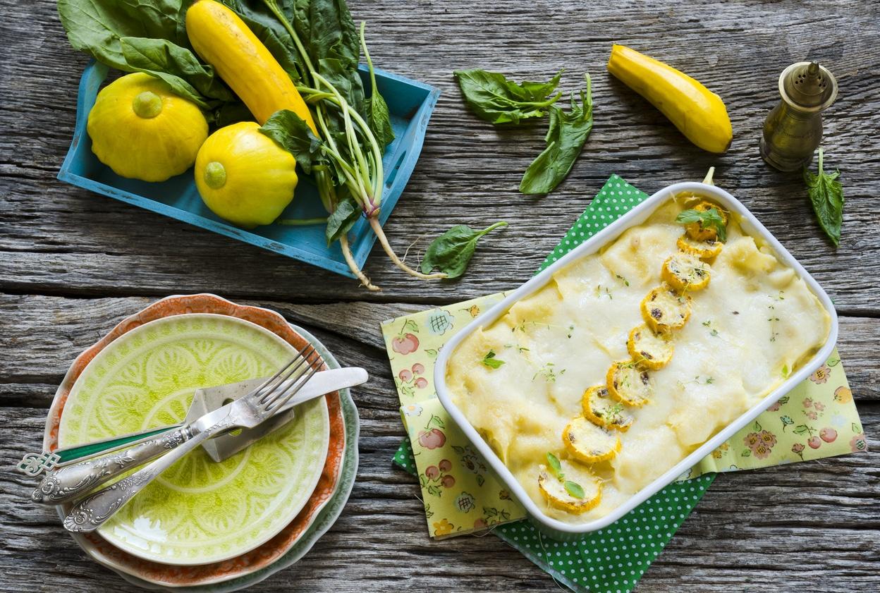 lasagnes de courgettes végétales cuisine recettes végétariennes
