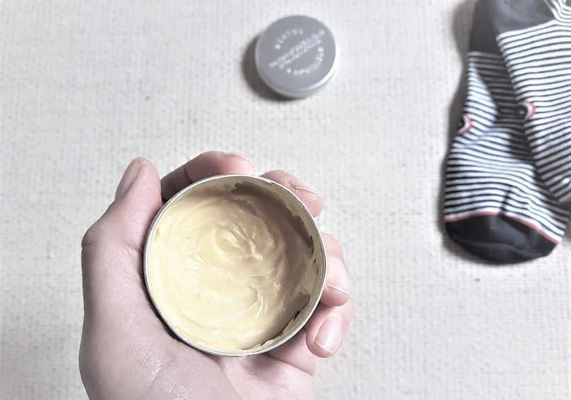 recette crème nourrissante pieds secs
