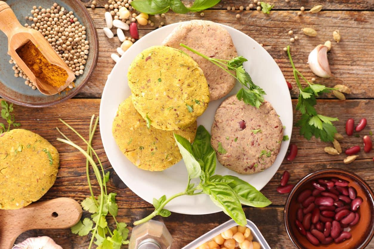 recette de cuisine steaks vegans végétariens burger maison