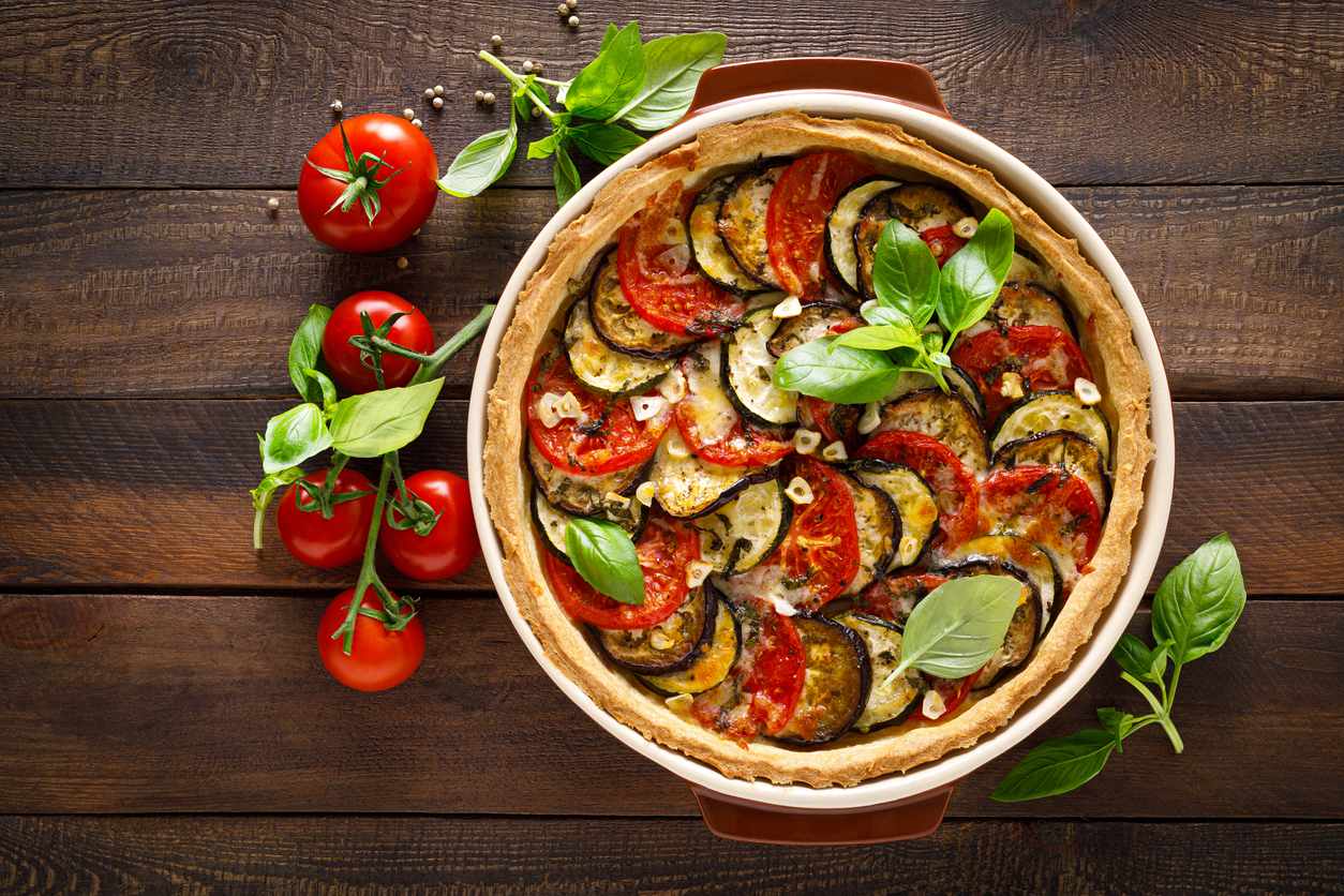tarte légumes tomates cerises été recettes vegans cuisine pâte