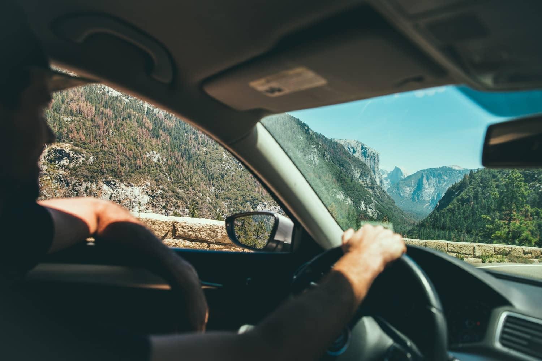 voiture conduite écologique vitre