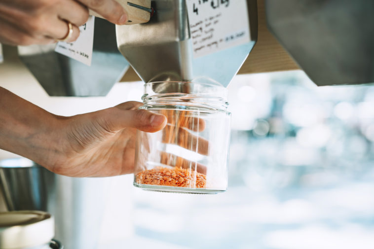 lentilles corail boutique épicerie zéro déchet vrac silo bocal