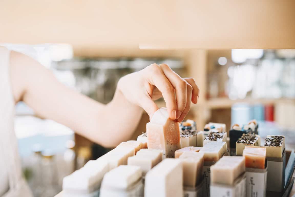 choisir savon en vrac zéro déchet boutique