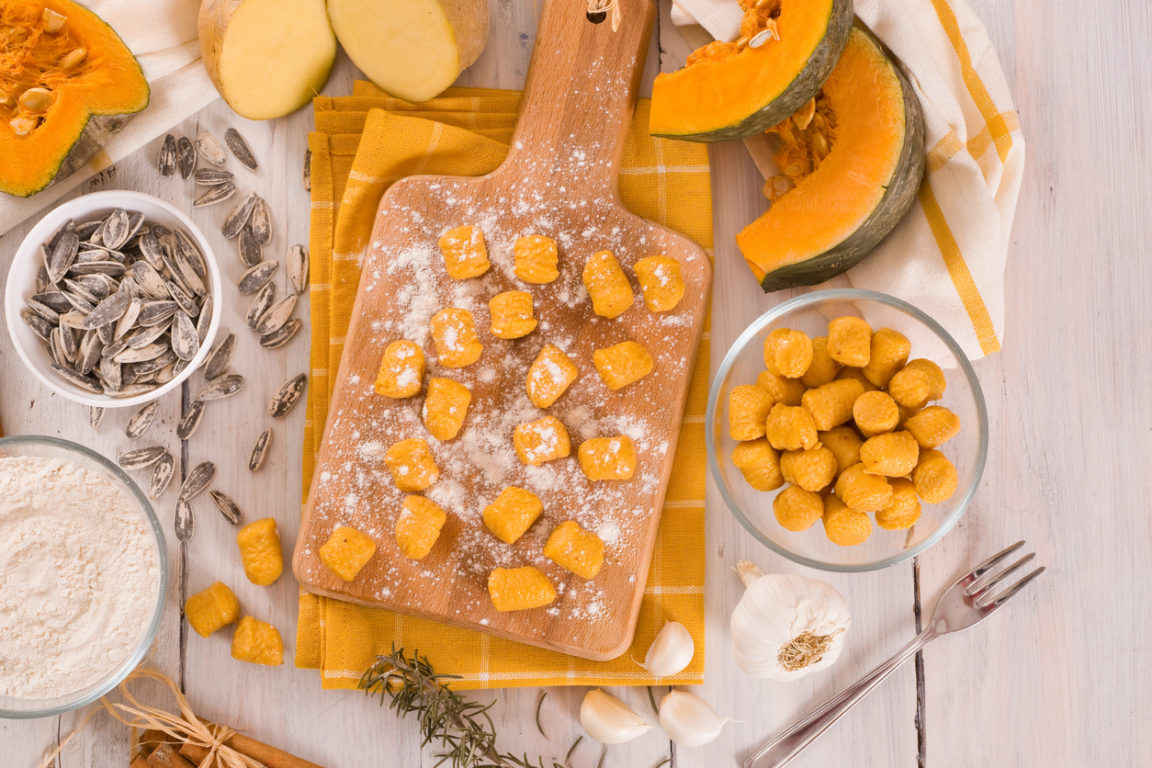 recette gnocchis courge butternut cuisine préparation
