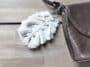 tuto porte clés lacets sac DIY