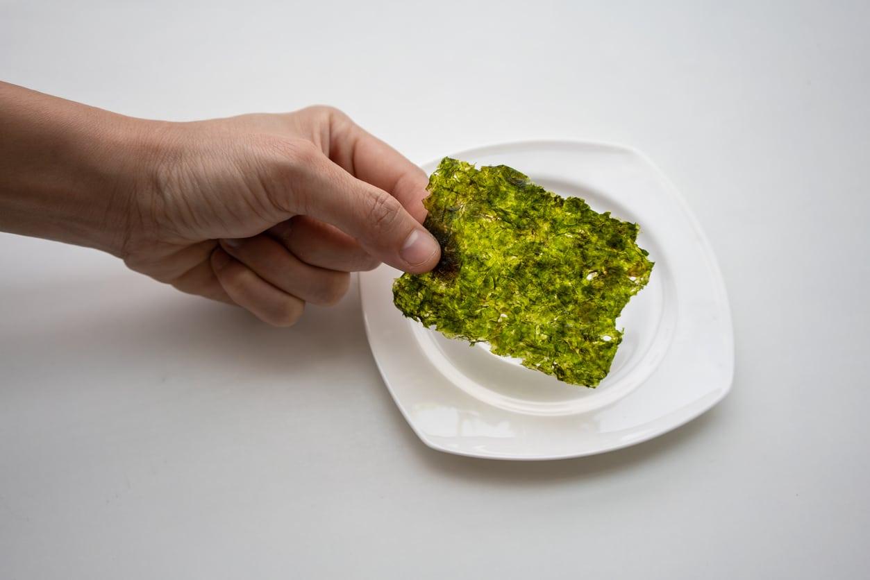 algues aliments les plus écologiques assiette manger