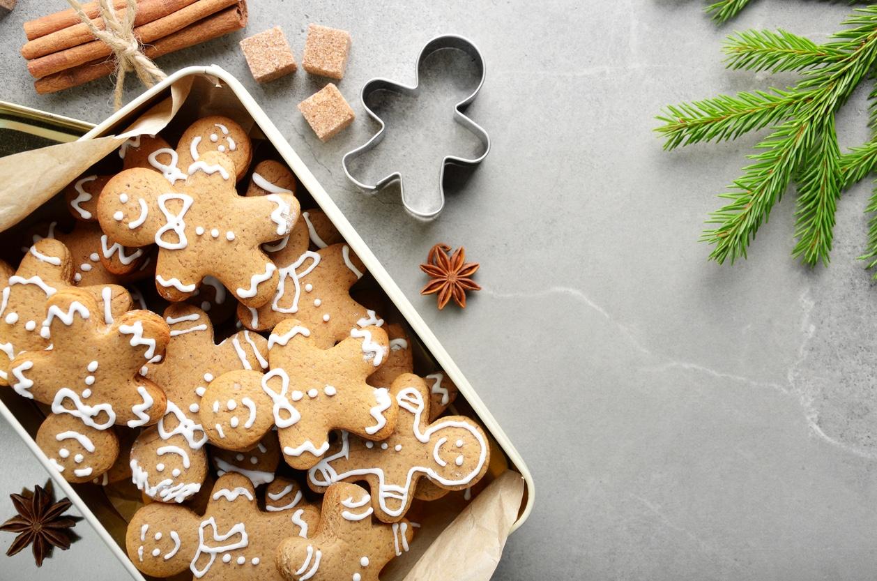 bonhommes pain épices biscuits de Noel recette gâteaux