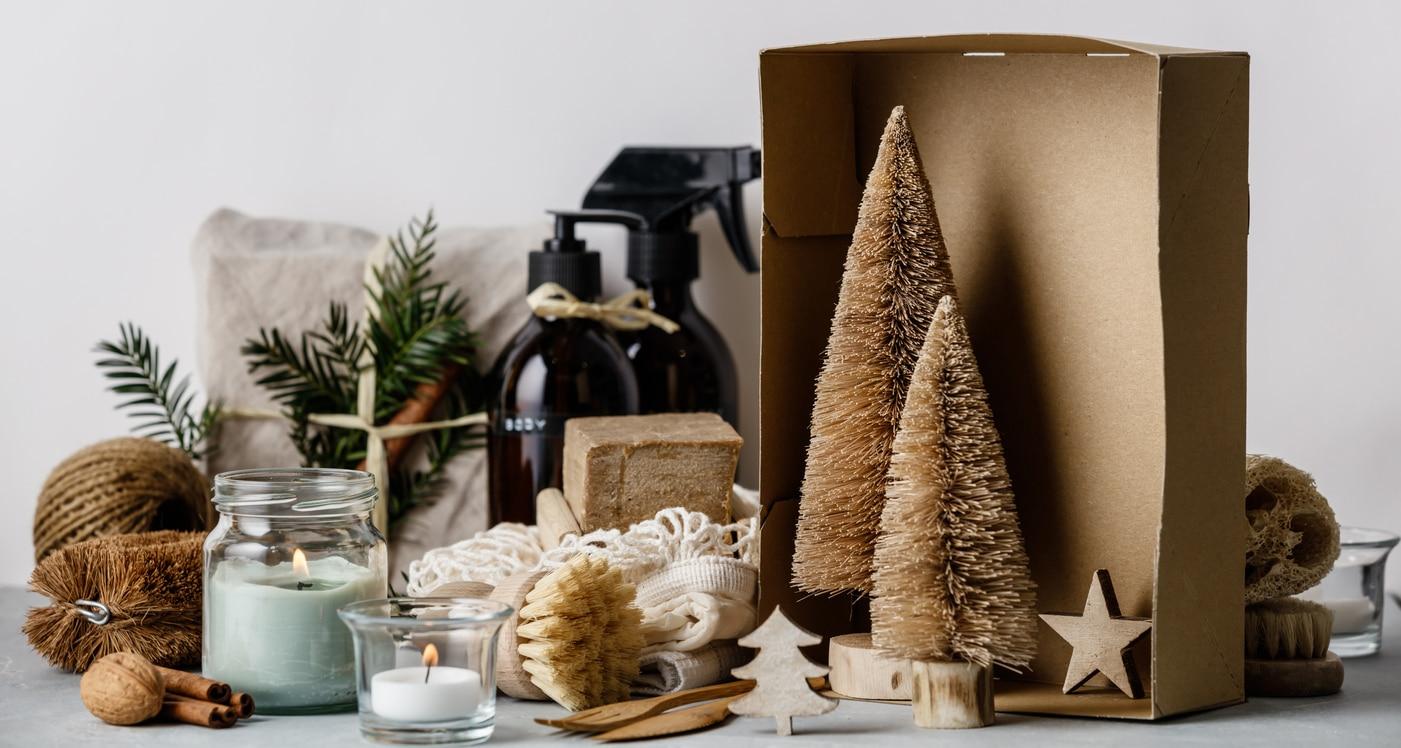 cadeaux de Noel zéro déchet nature