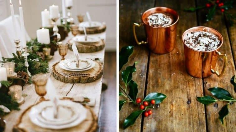 décoration de table fête réveillon idées diy