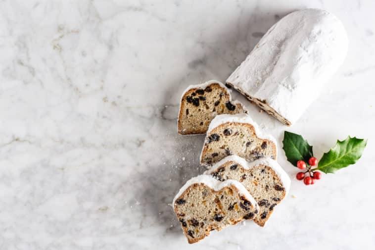 pain de Noël gâteau stollen christollen recette dessert de fête