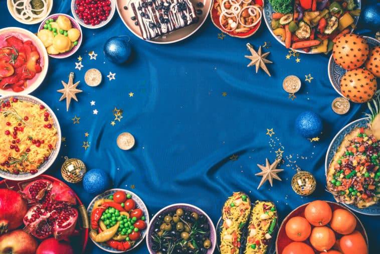 Noël vegan végétarien repas menu fêtes
