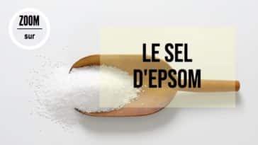sel Epsom utilisations vertus bienfaits