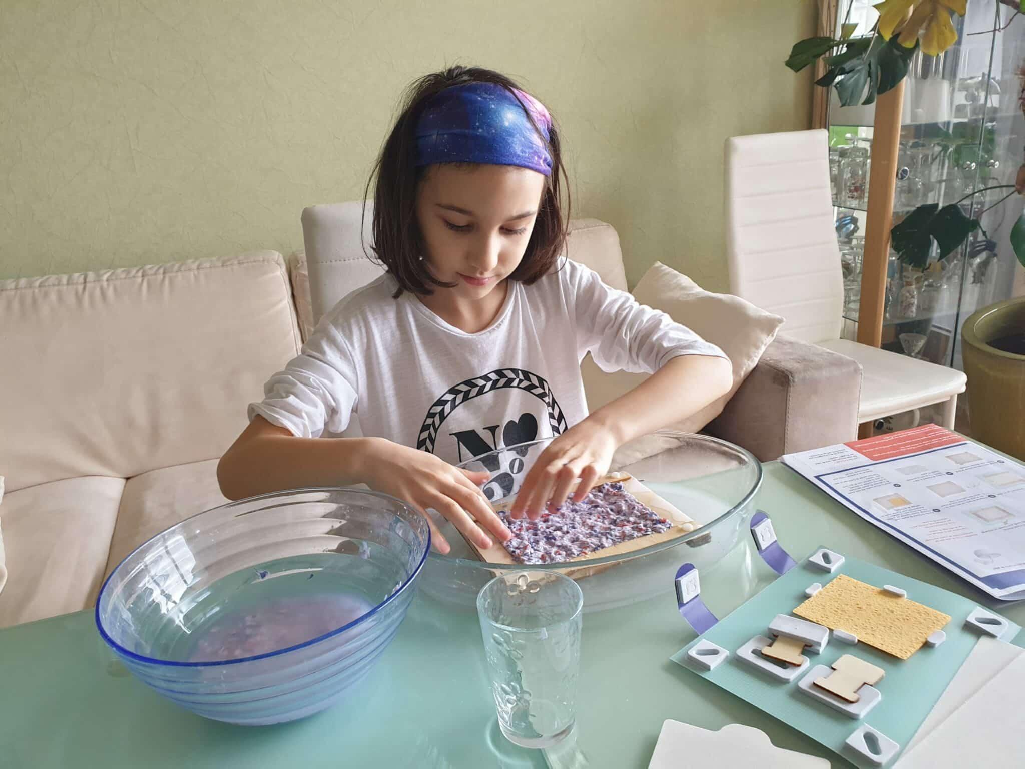 activité manuelle petite fille kit éducatif
