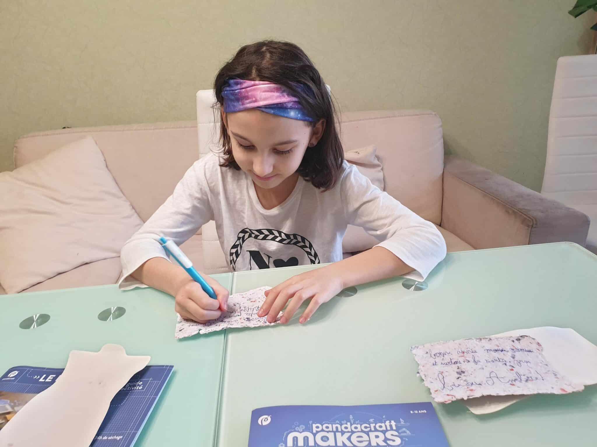 pandacraft activité manuelle petite fille kit éducatif