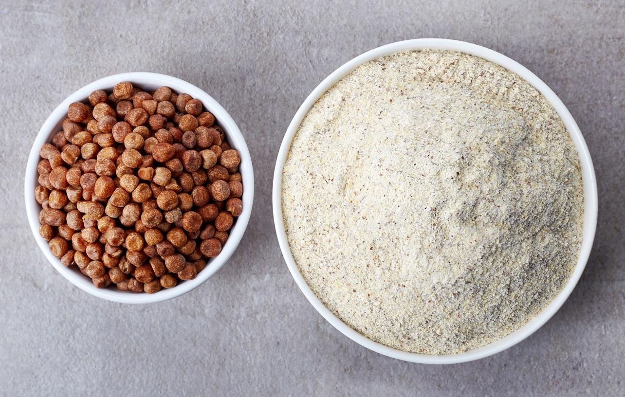 farine de pois chiches sans gluten fabriquer