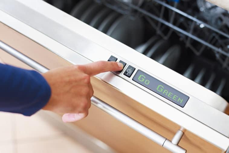 lave vaisselle programme cycle lavage écologique machine
