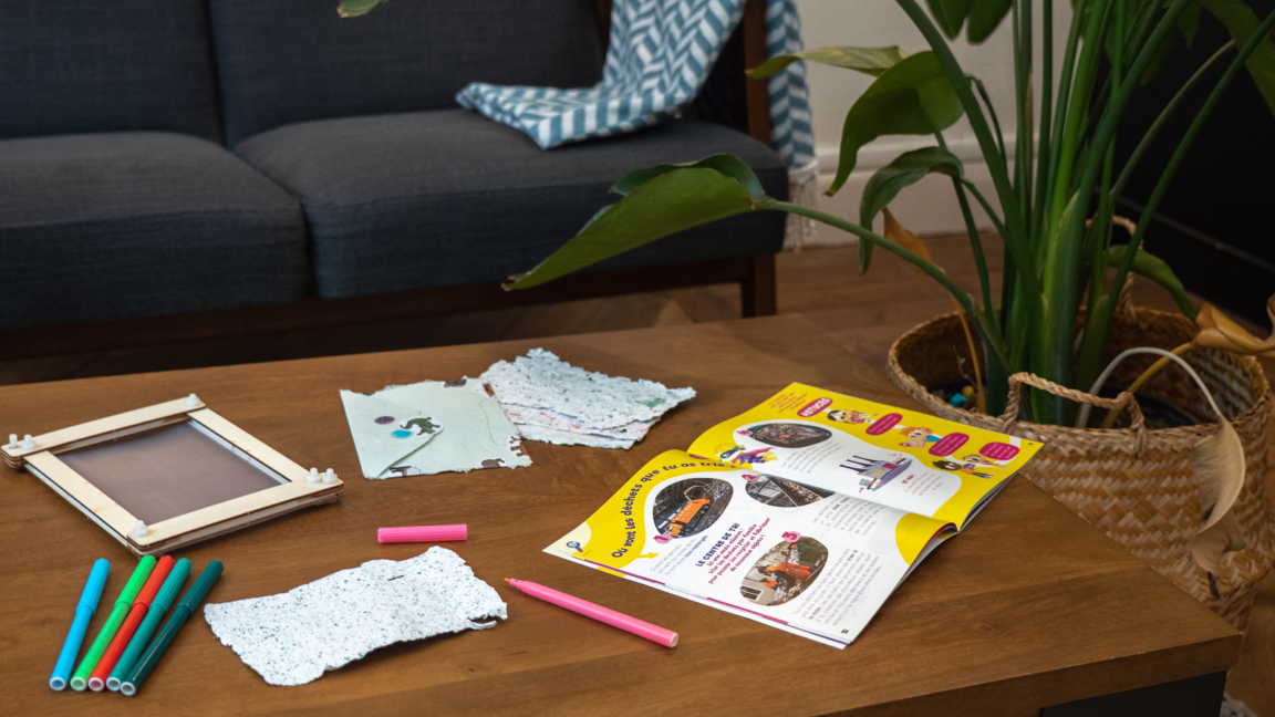 cartes voeux fabriquer Pandacraft abonnement kit éducatif activité enfants