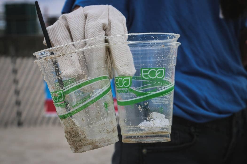 preuve acte de greenwashing gobelets eco cup plastique