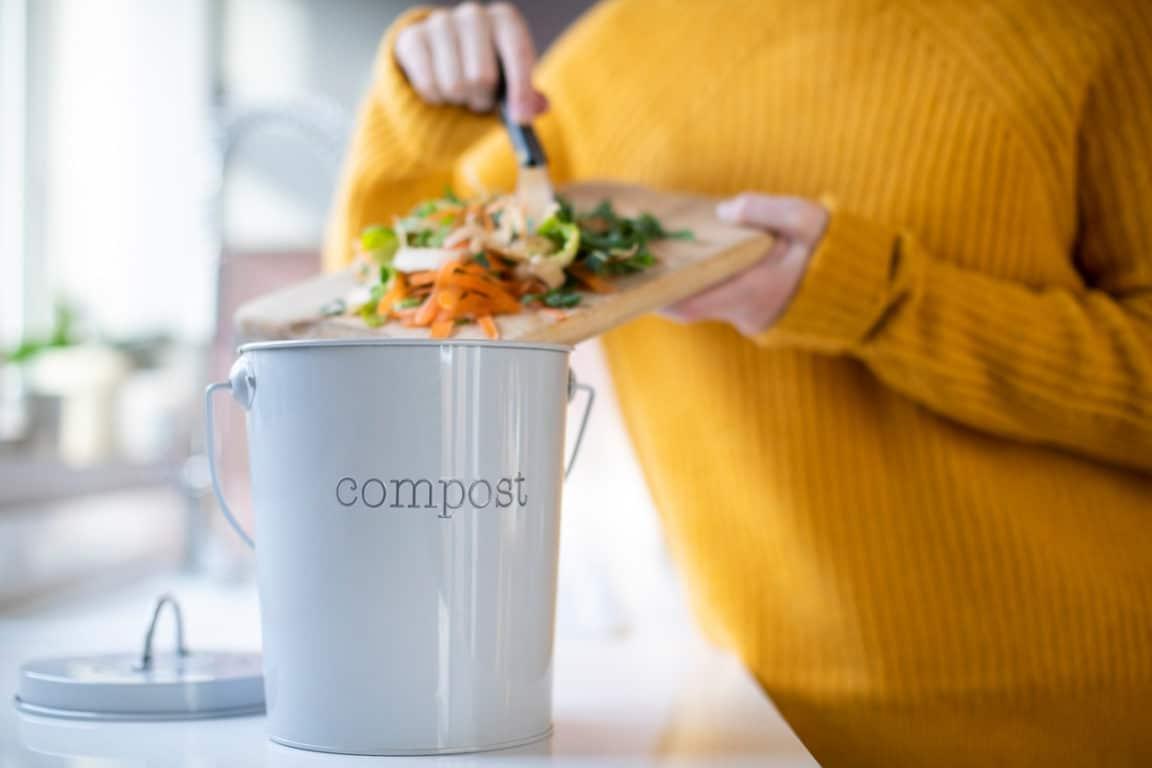 matières compostables composter restes alimentaires poubelle compost