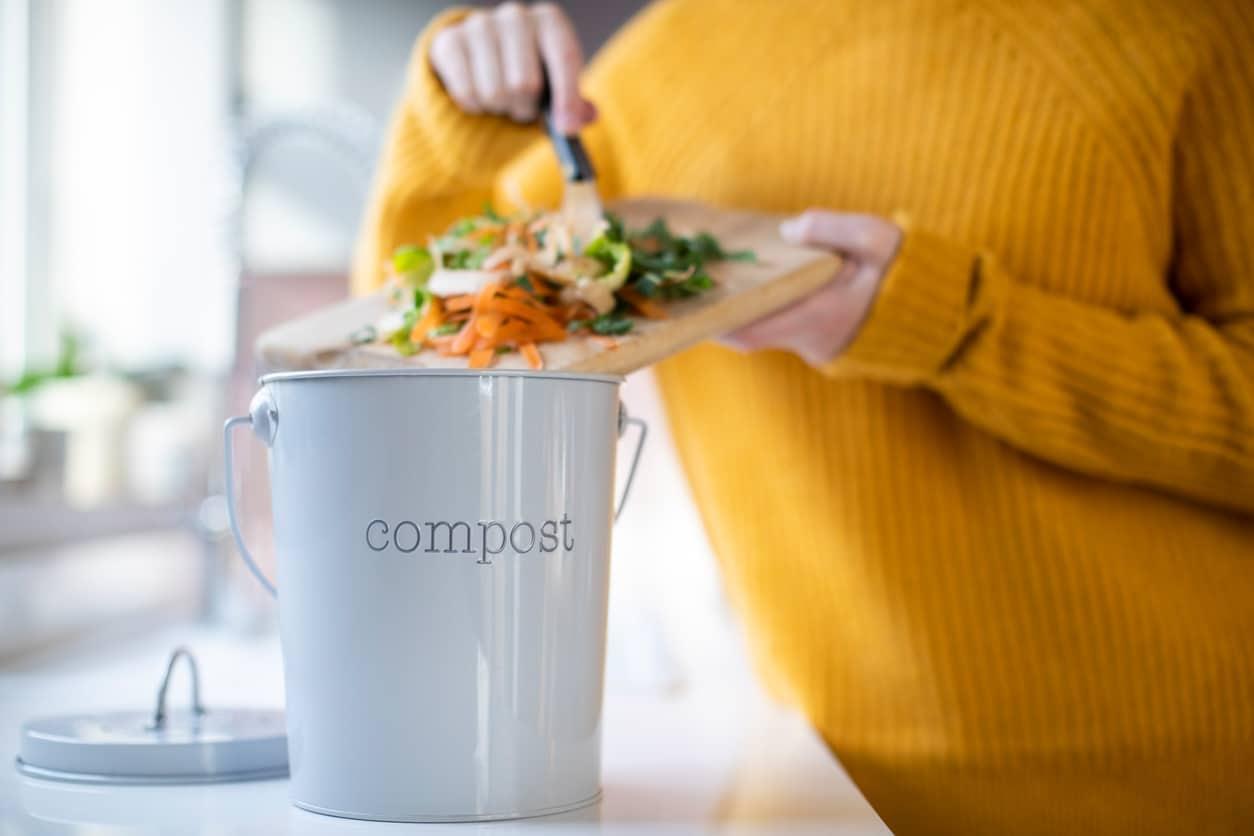 composter restes alimentaires poubelle compost