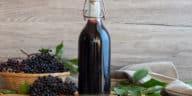 sirop de sureau noir recette fruits