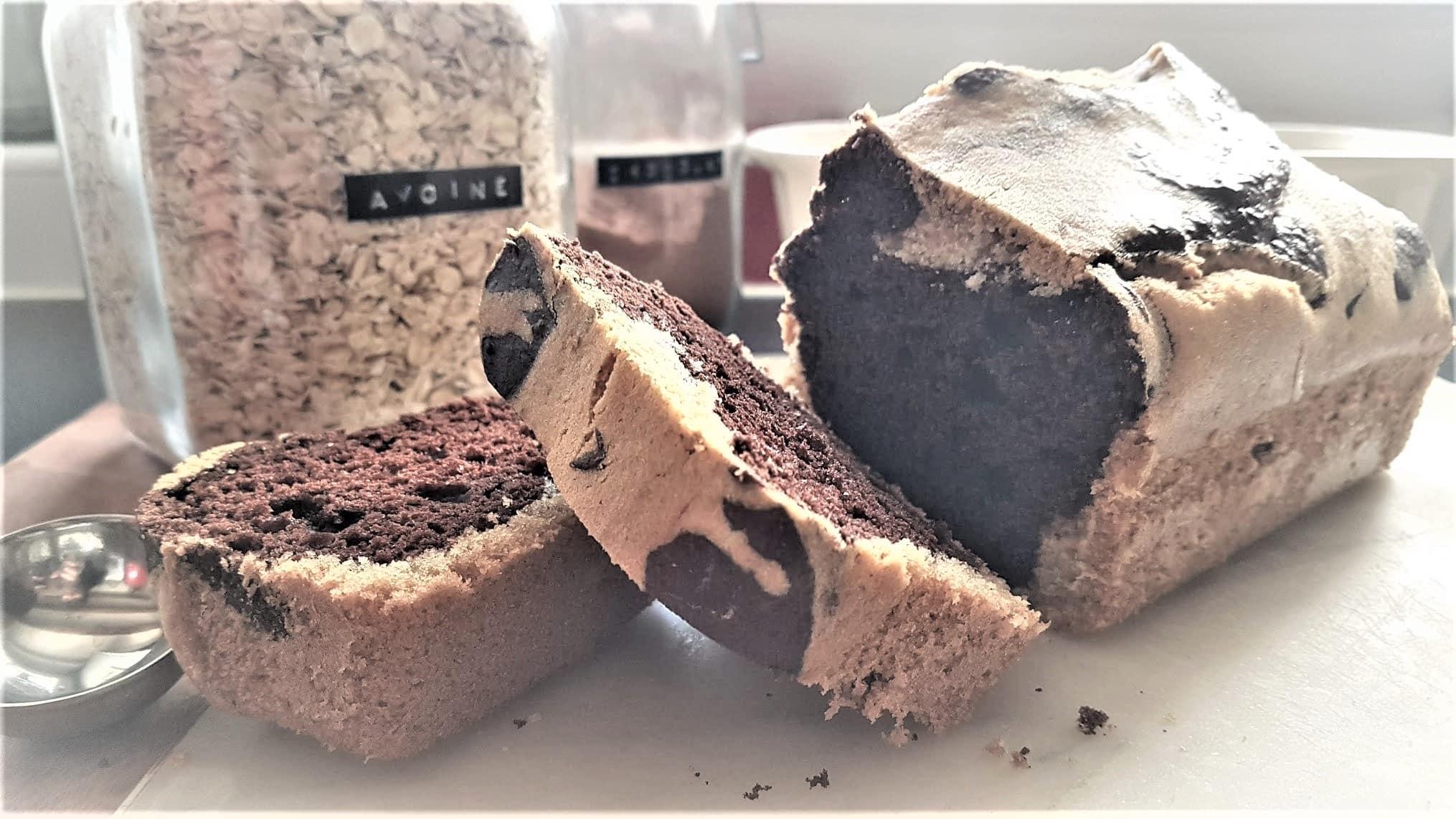 gâteau marbré chocolat cake recette cuisine facile