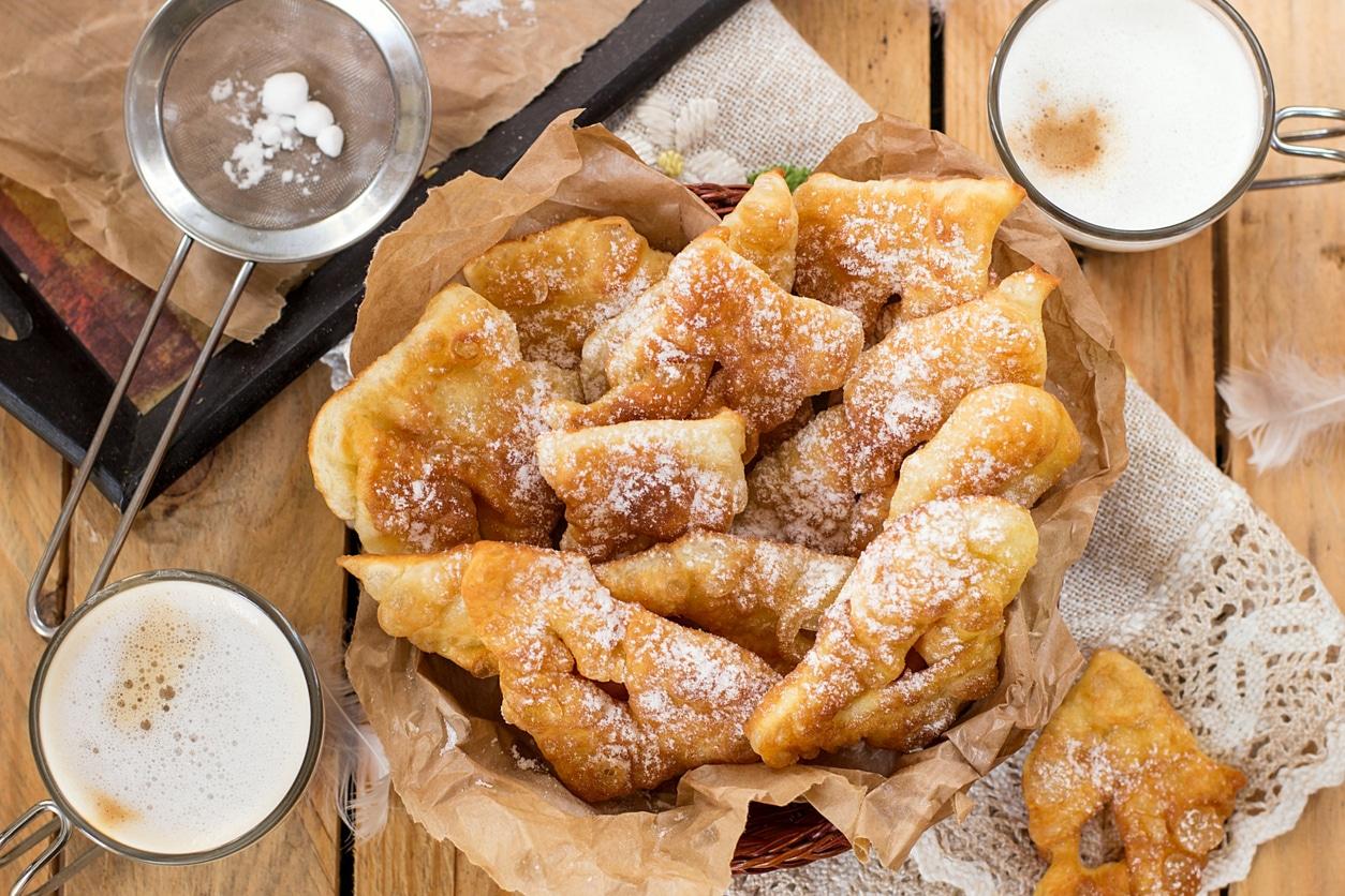 bugnes beignets recette cuisine mardi gras carnaval