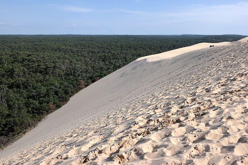 dune du Pyla paysage de France voyage sable mer foret