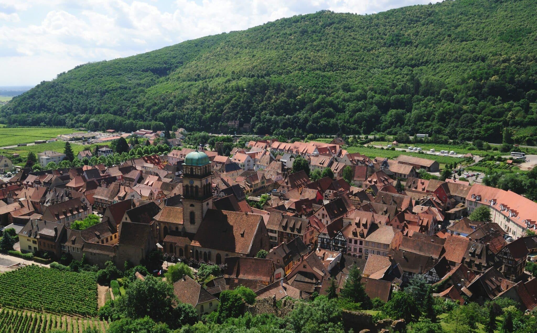 Kaysersberg ville Alsace allemagne voyage france
