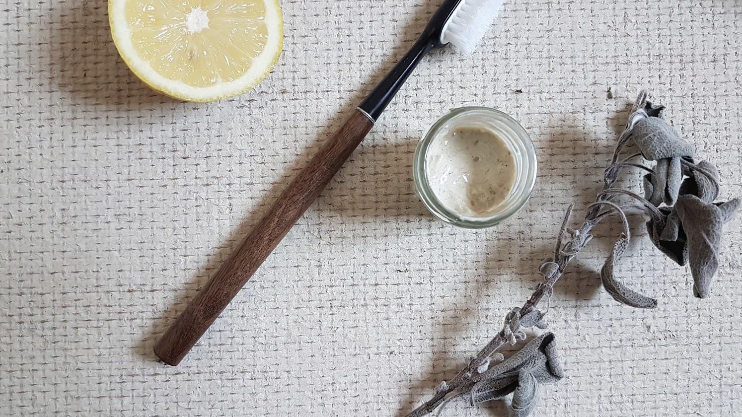 dentifrice au citron recette naturelle