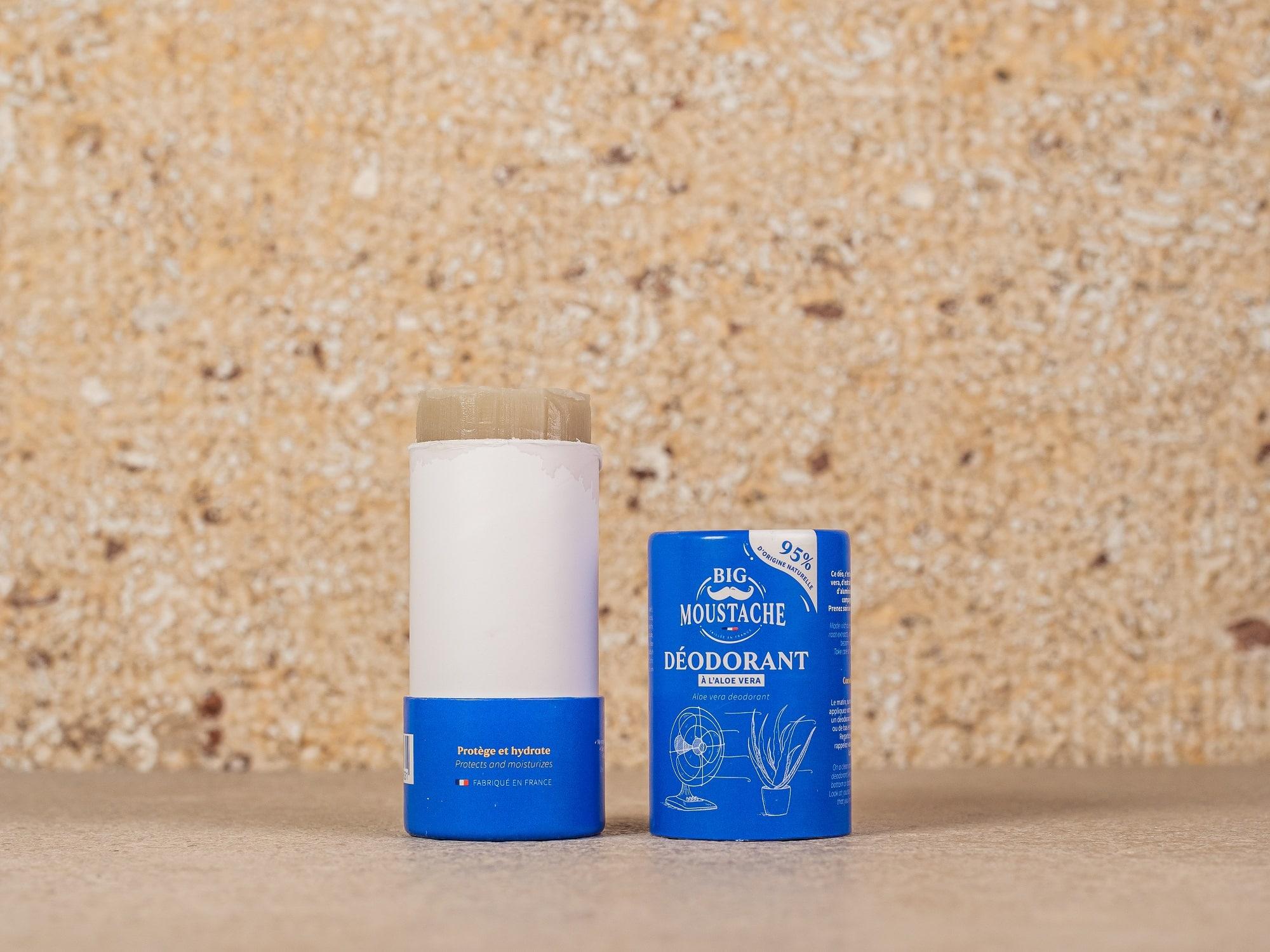déodorant solide Big Moustache test comparatif déodorants français