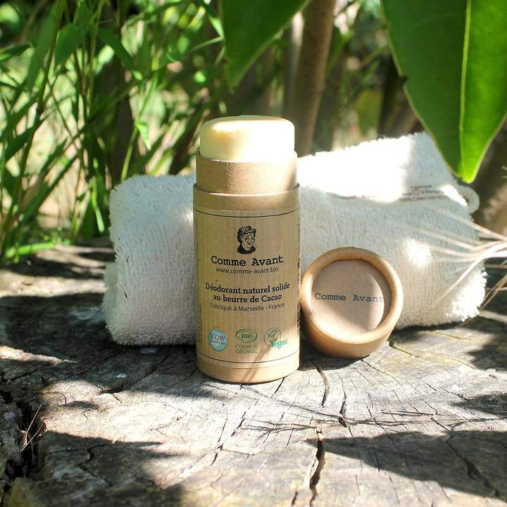 déodorant naturel efficace stick carton zéro déchet