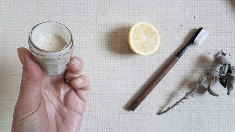 recette dentifrice pulpe citron aphtes
