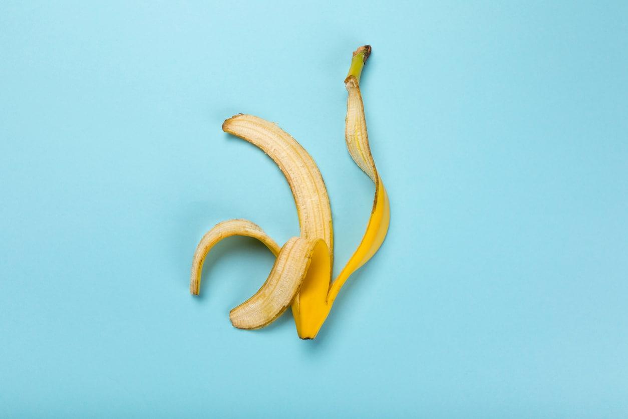 peau de banane fruit empreinte carbone jeter