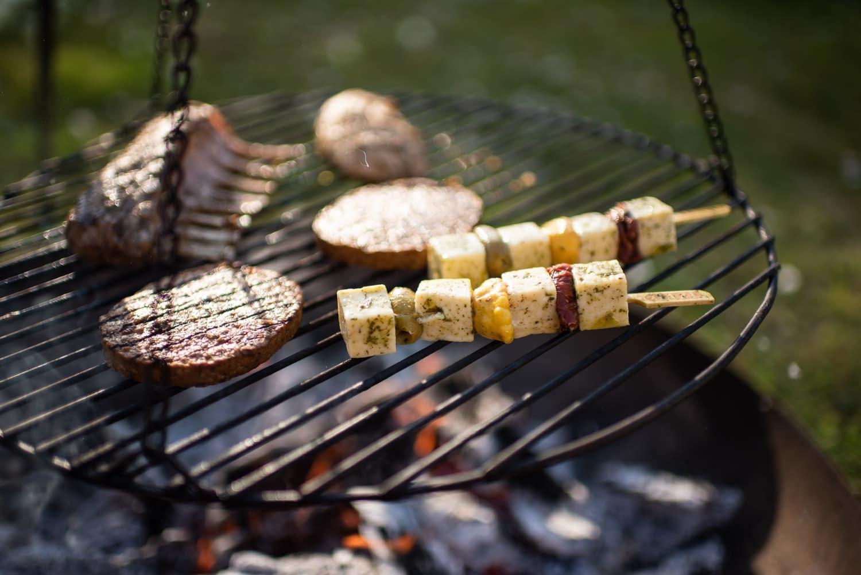 brochettes de tofu au barbecue