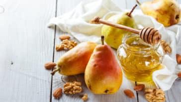 miel de poires recette fruits gelée vegan végétal
