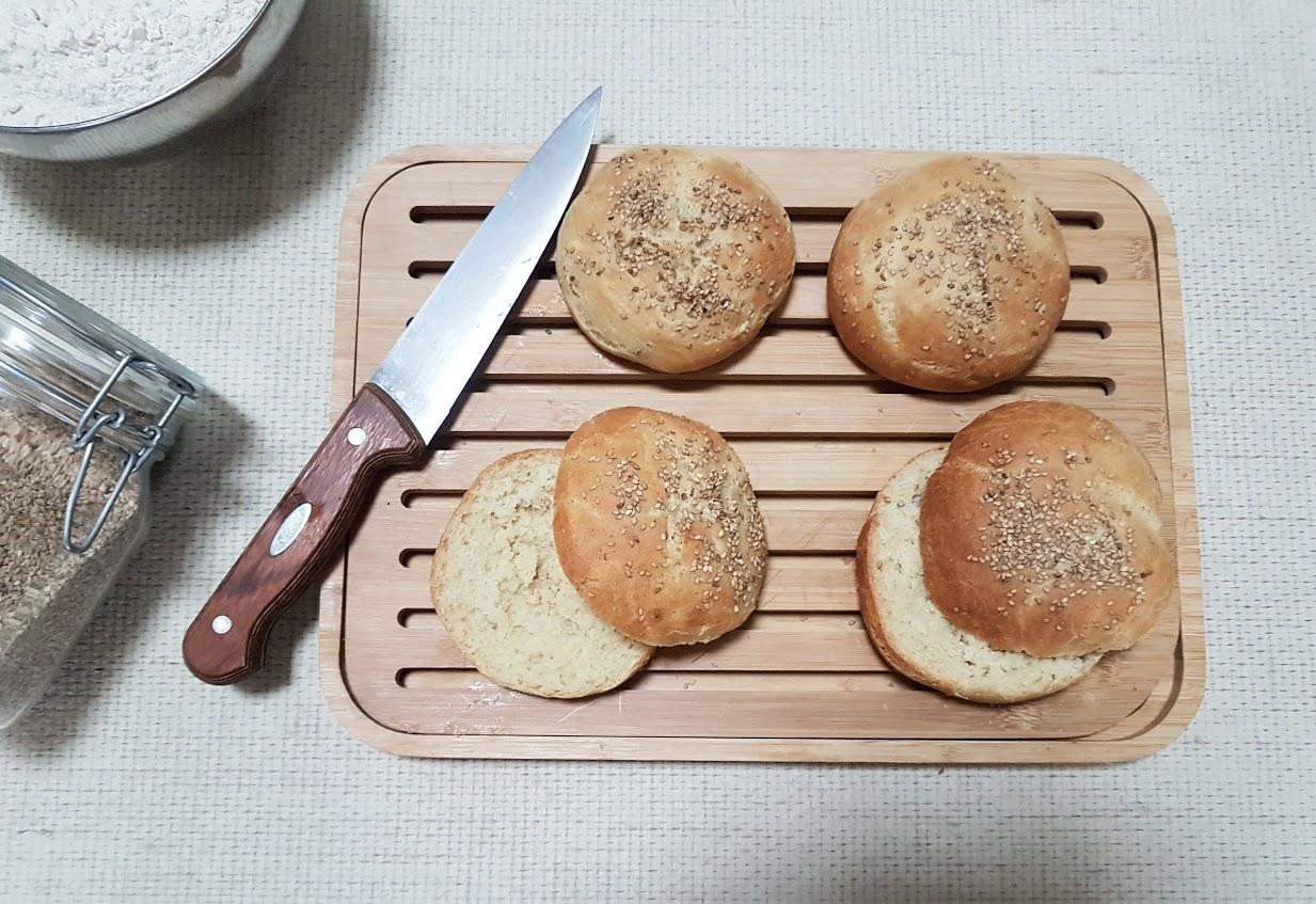 pains burger maison recette sans déchet