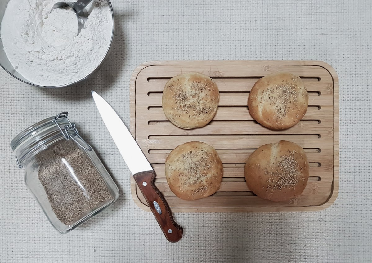 pains burgers maison recette