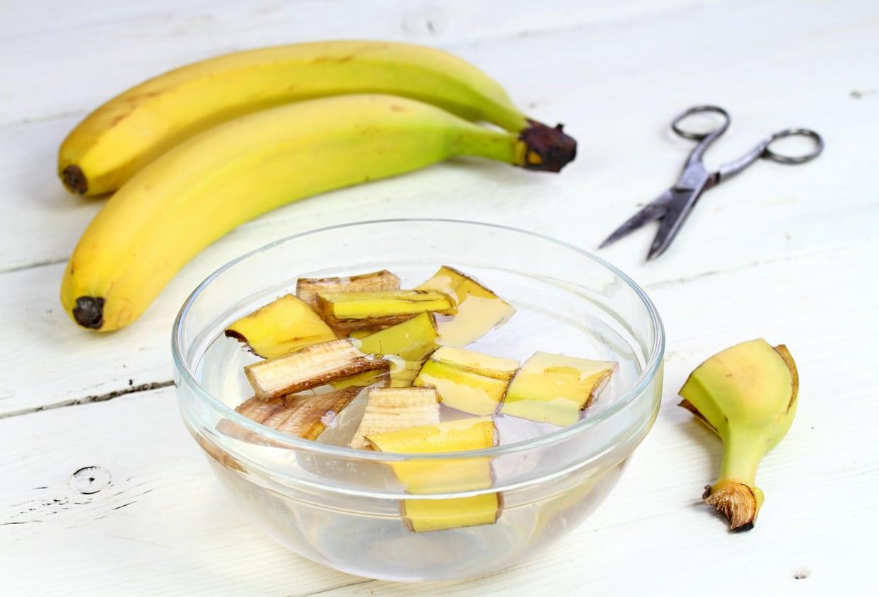 recycler réutiliser peaux de banane bol astuces zéro déchet