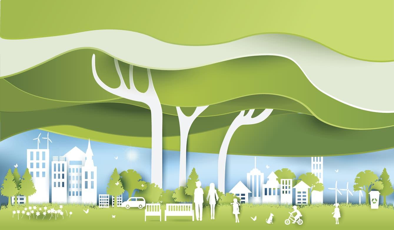 ville verte commune écolo agglomération urbanisation nature villes vertes France