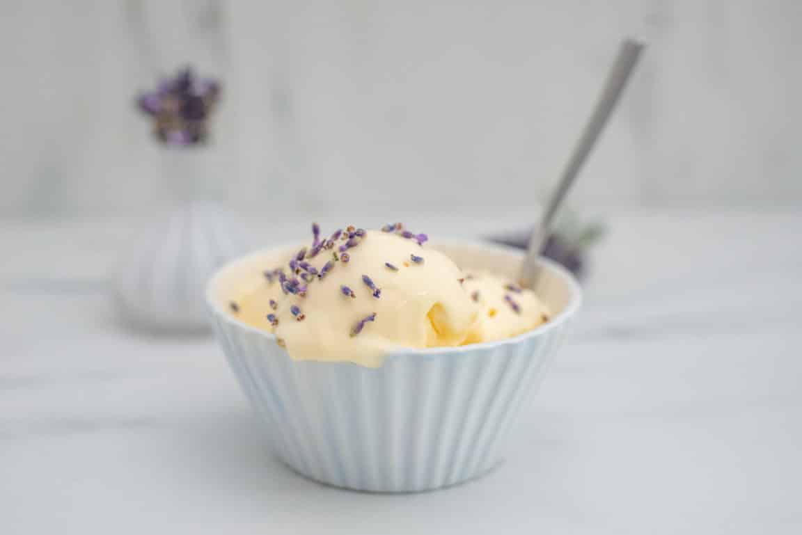 glace lavande vanille recette sorbet