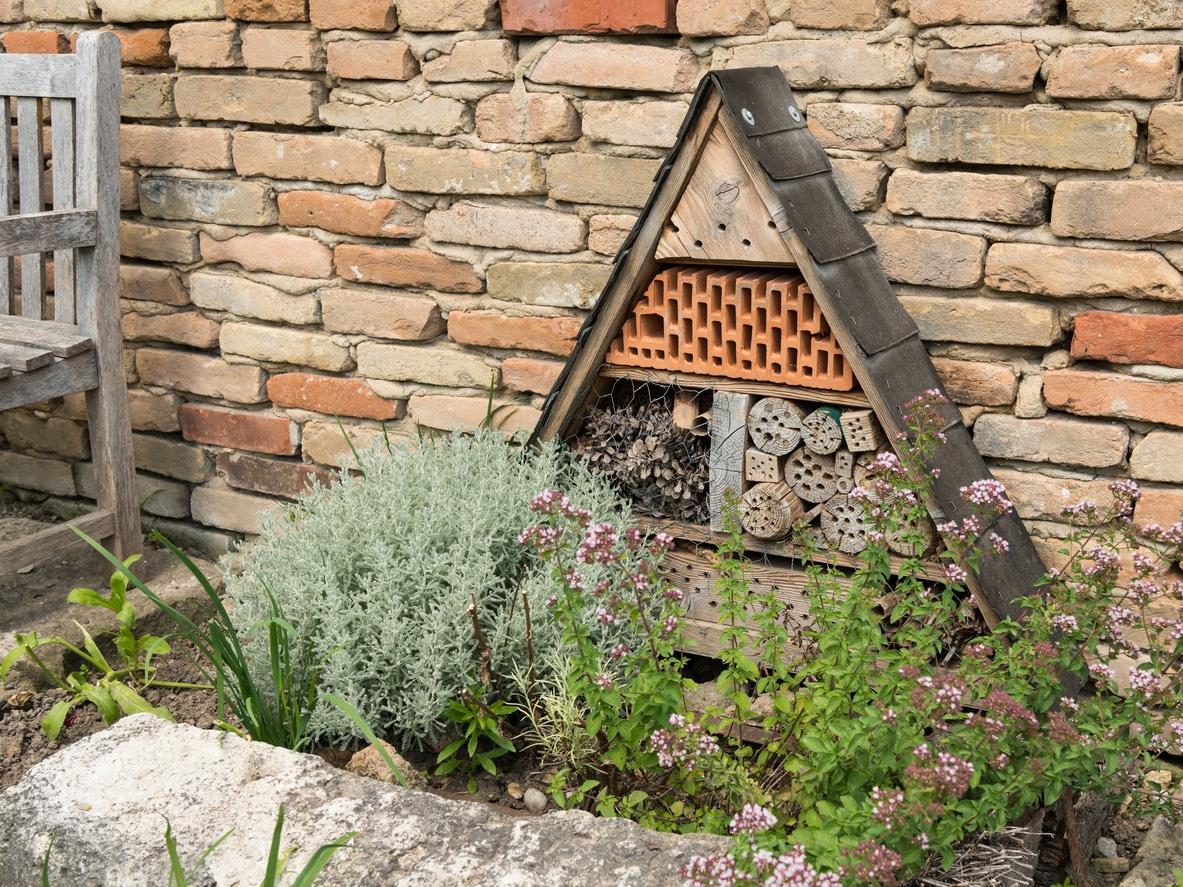 hôtel à insectes cabane abri en bois fabriquer jardin
