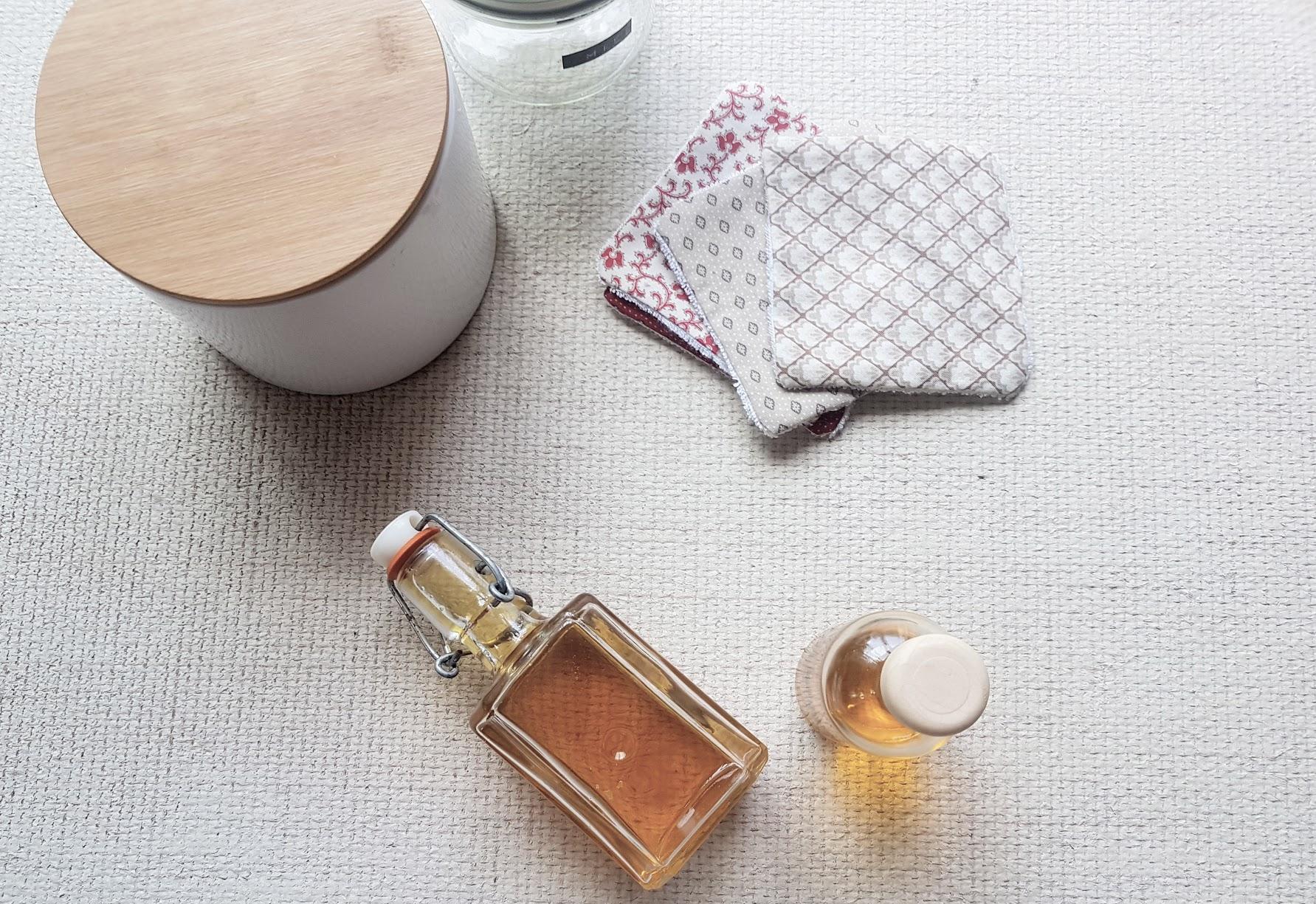 lotion corps recette zéro déchet huile hydratante