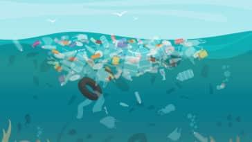pollution plastique marine déchets septième continent eau mer