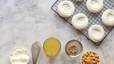 vegan cuisine meringues jus de pois chiches recette facile
