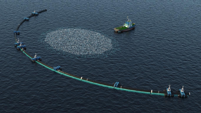 système de nettoyage océan mer pollution marine septième continent bateau