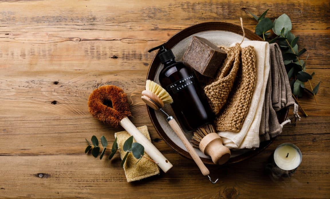produits ménagers écologiques maison zéro déchet