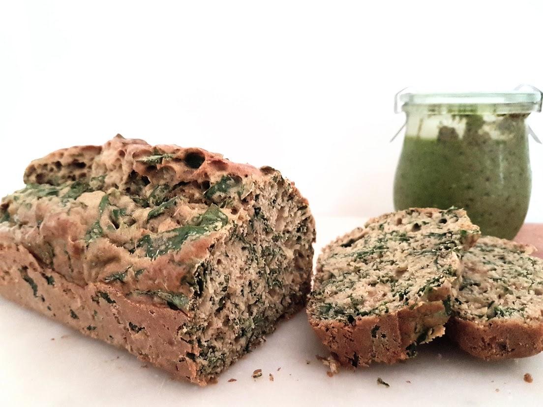 recette cake salé ail des ours sauvage