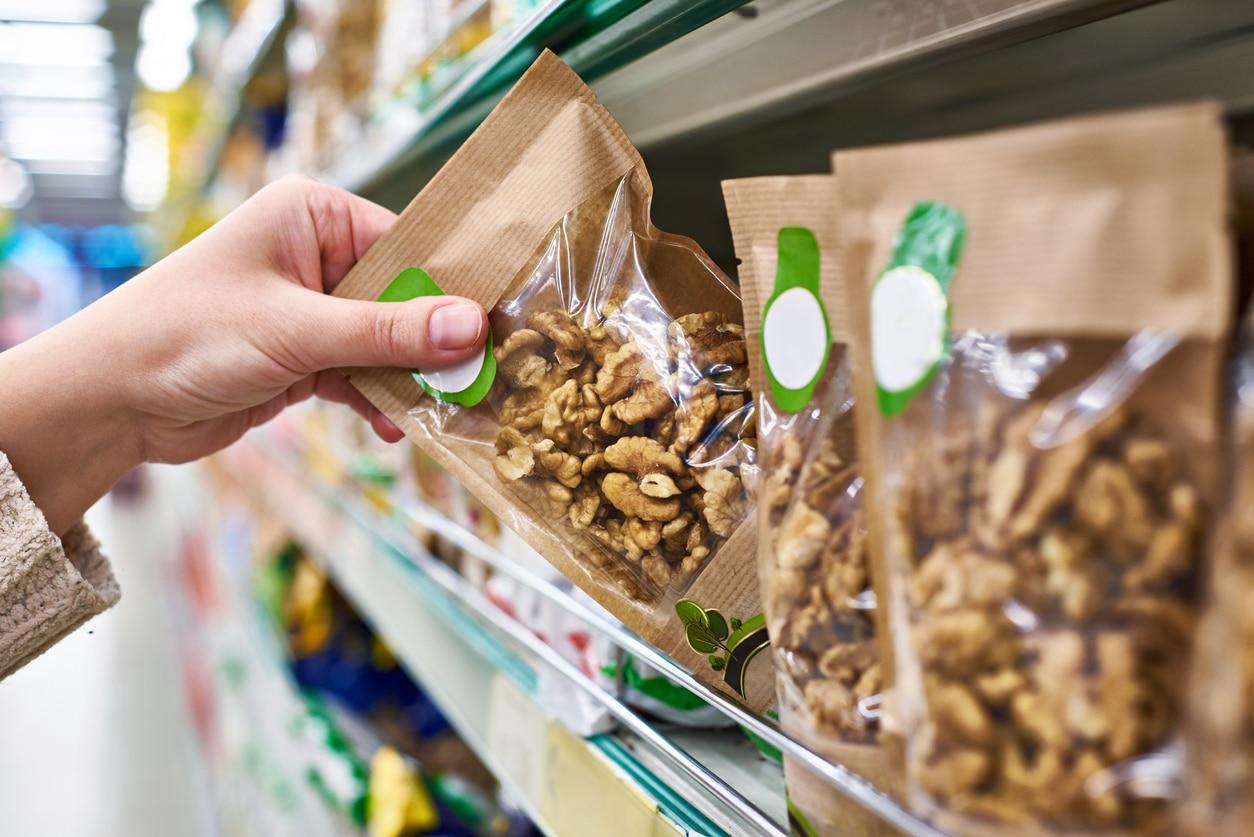 sachet en plastique supermarché rayon loi climat