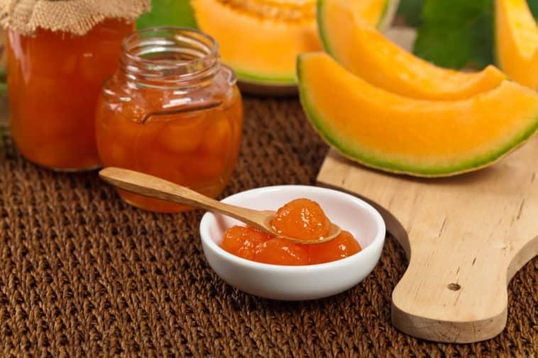 confiture de melon recette cuisine anti gaspillage écorces zéro déchet